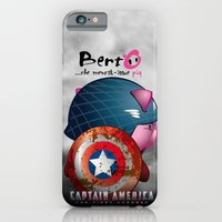 Berto: The Mental-issue pig as Captain America iPhone 6 Slim Case