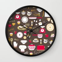 Teatime Treat Wall Clock