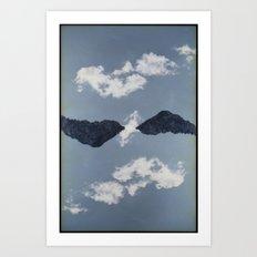 Landscapes c14 (35mm Double Exposure) Art Print