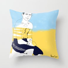 Sur la planche #02 Throw Pillow