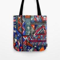 Tribal Texture Tote Bag