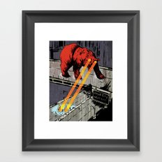 Lloyd City Framed Art Print