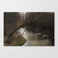 River Bend, Brookston, IN Canvas Print