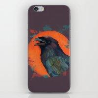 Raven Sun iPhone & iPod Skin