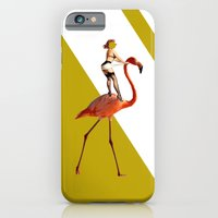 Baby you can ride my flamingo iPhone 6 Slim Case