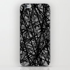 Kerplunk Extended Black and White iPhone & iPod Skin