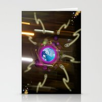 Alien  Attack Stationery Cards