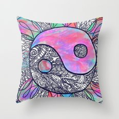 The Ying and the Yang Throw Pillow