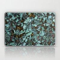 Patina Leaves Laptop & iPad Skin