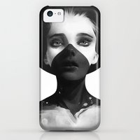 iPhone 5c Cases featuring Hold On by Ruben Ireland