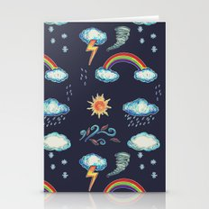 Blame It On The Weather-man Stationery Cards