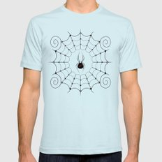 Space Mens Fitted Tee Light Blue SMALL