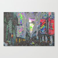 Maintained Looms As Anti… Canvas Print