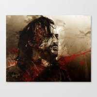 Blood Of The Dogs Canvas Print