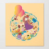 Ambrosia With Balloon Canvas Print
