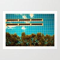 Sky wall Art Print