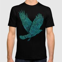 Blue Bird Mens Fitted Tee Black SMALL