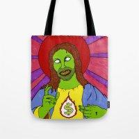 Cash For Jesus US Versio… Tote Bag