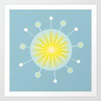 Radiolarian 8 Art Print