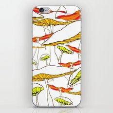 forest of the magic mushrooms iPhone & iPod Skin
