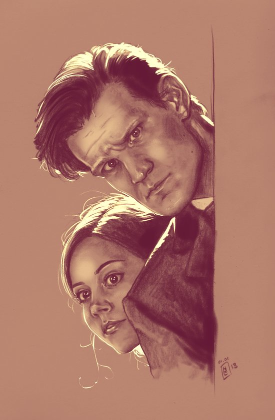Mysterious People - Doctor Who Art Print