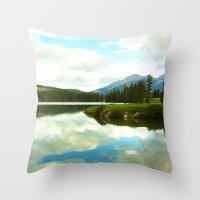 Lac Beauvert Throw Pillow