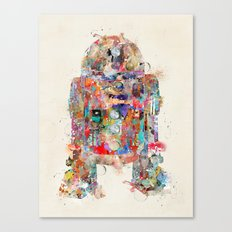 Retro R2 Canvas Print