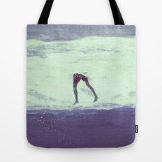 IT'S ALWAYS BETTER UNDER WATER Tote Bag