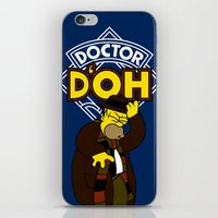 Doctor D'oh iPhone & iPod Skin