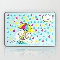Rain Rabbit ezekiel 34:26 Laptop & iPad Skin
