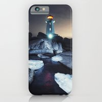 iPhone & iPod Case featuring Frozen Shores by Shaun Lowe