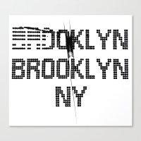 BROOKLYN BROOKLYN Canvas Print