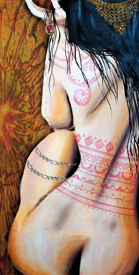 Indian Jewels Art Print