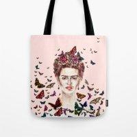 Frida Kahlo - Mexico Tote Bag