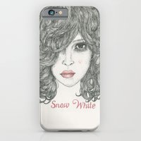 iPhone & iPod Case featuring Snow White ♡ by Rosepetaldeer