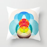 The Sky And You Throw Pillow