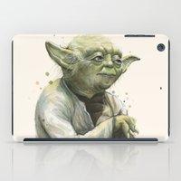 Yoda Portrait iPad Case