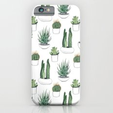 Watercolour Cacti And Su… iPhone 6 Slim Case