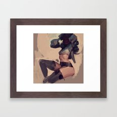 Thights Framed Art Print