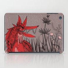 Woman Wolf 2 iPad Case