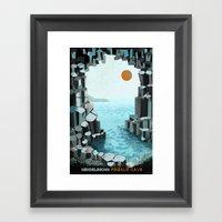 Fingal's Cave Overture -… Framed Art Print