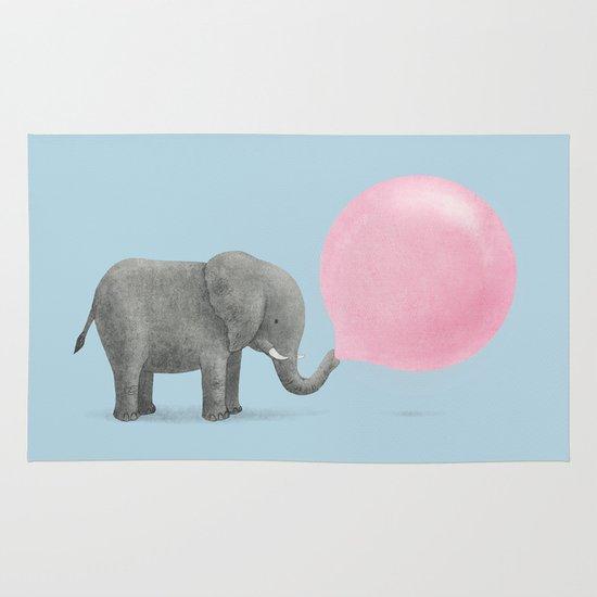 Jumbo Bubble Gum  Area & Throw Rug