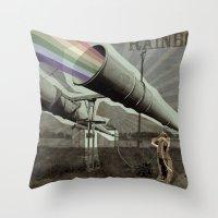 Rainbows ? Throw Pillow
