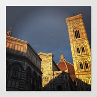 When In Florence Canvas Print