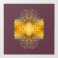 Energy burst Canvas Print