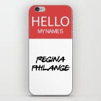 HELLO MY NAME IS... REGI… iPhone & iPod Skin