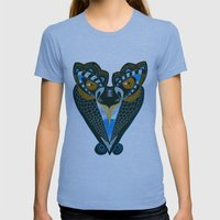 Creature Womens Fitted Tee Athletic Blue SMALL