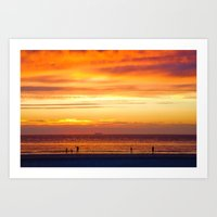 Sunset Now Art Print