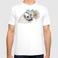 HEADGROWTH Mens Fitted Tee White SMALL