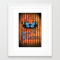 The Butterfly Circus Official Movie Poster Framed Art Print